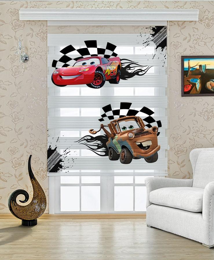 Şimşek Mcqueen Arabalar Bebek Odası ve Çocuk Odası Halı