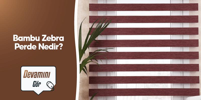 Bambu Zebra Perde Nedir? Özellikleri Nelerdir?