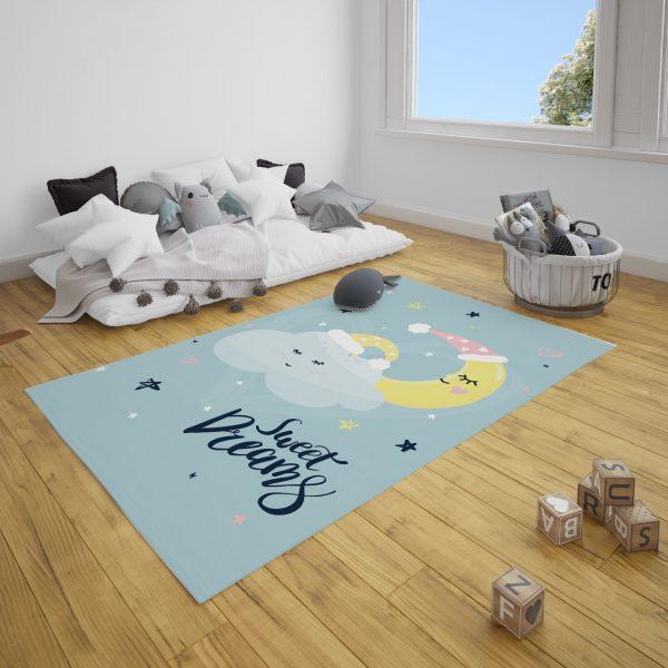 İyi Uykular Bebek ve Çocuk Odası Halı