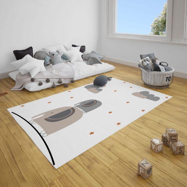 Merdiven Filler Bebek Odası ve Çocuk Odası Halı
