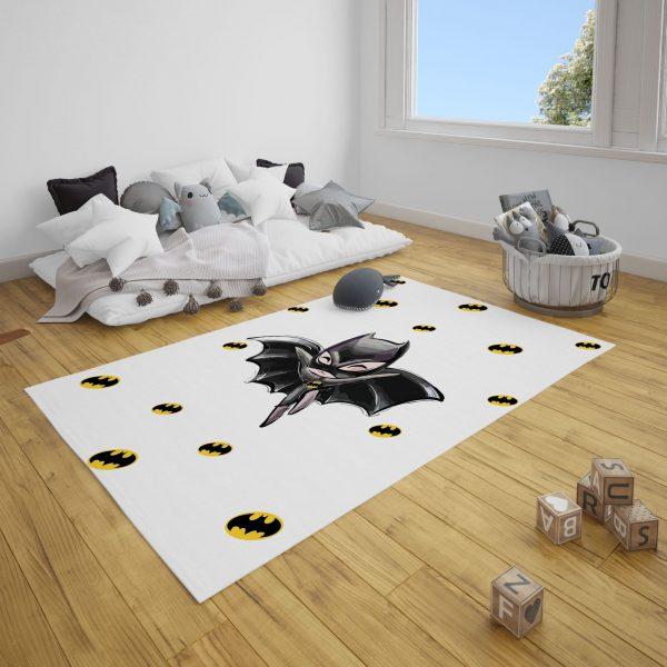 Minik Batman Bebek ve Çocuk Odası Halı