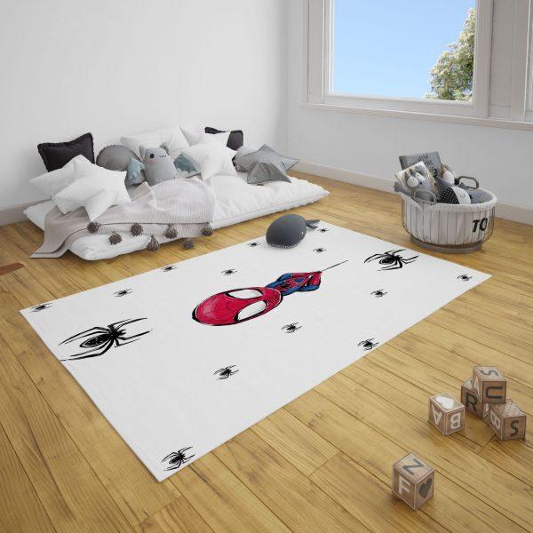 Minik Örümcek Adam Bebek ve Çocuk Odası Halı