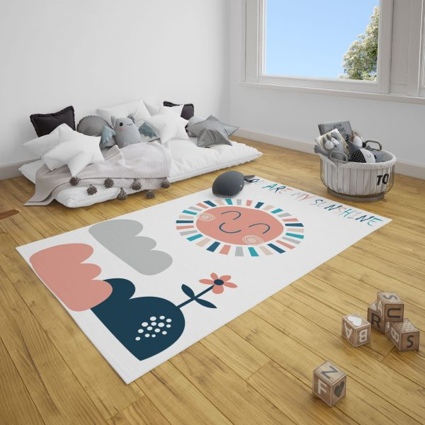 Mutlu Güneş Bebek ve Çocuk Odası Halı