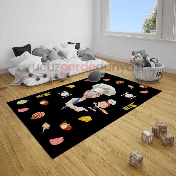 Aşçı Bebek Odası ve Çocuk Odası Halı