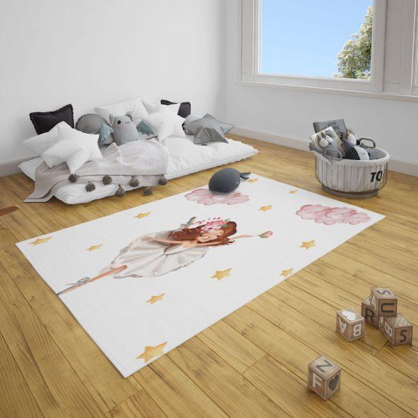 Balet Kız Bebek Odası ve Çocuk Odası Halı