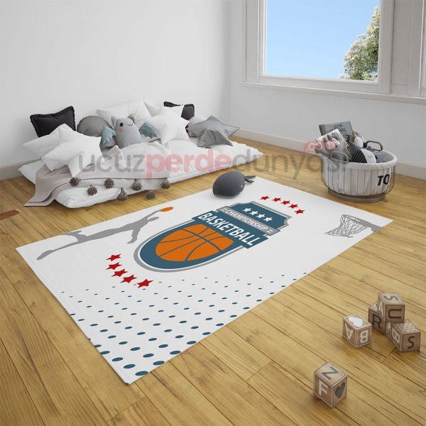 Basketbol Çocuk Odası Halı