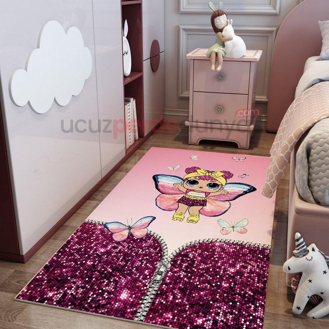 Bebek Peri Çocuk Odası Halı