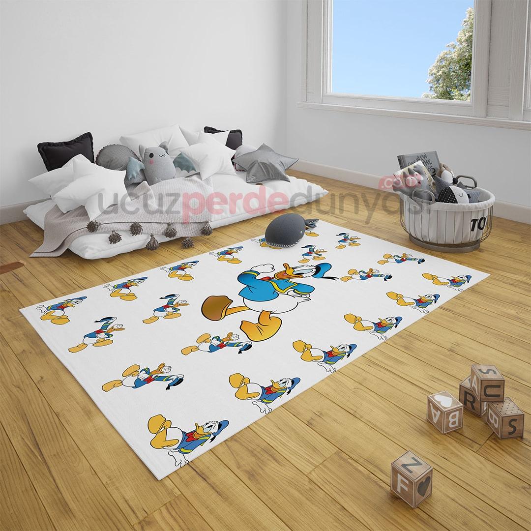 Duffy Duck Çocuk Odası Halı