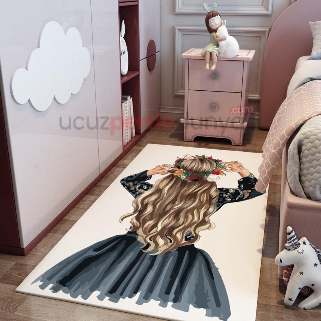 Elizabeth Genç Odası Halı