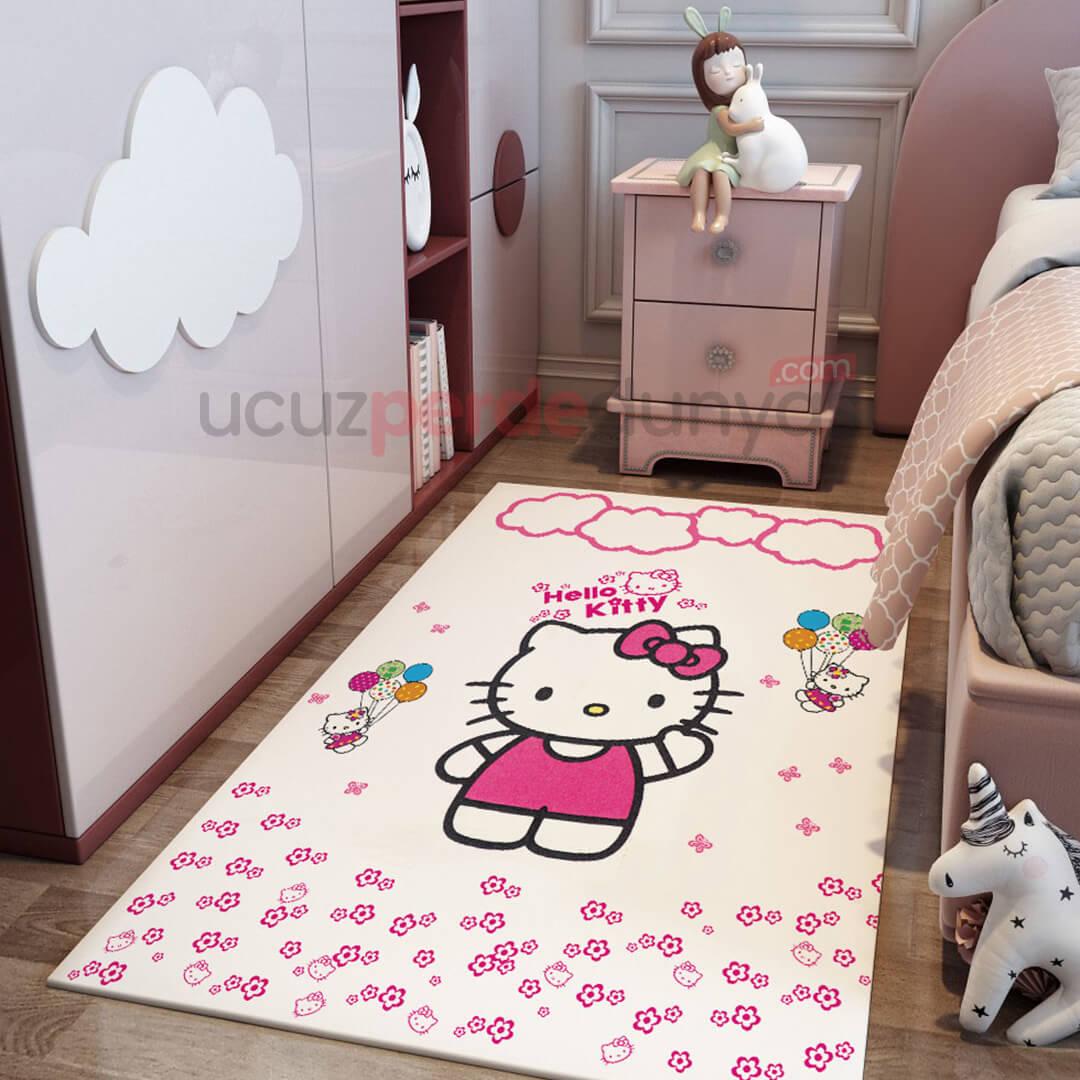 Hello Kitty Bebek Odası Halı