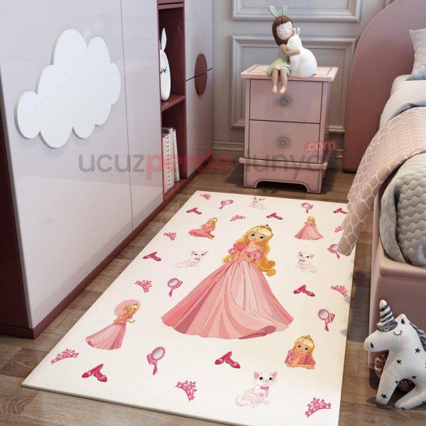 Prenses Külkedisi Çocuk Odası Halı