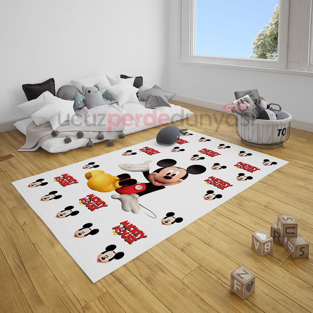Mickey Mouse Çocuk Odası Halı