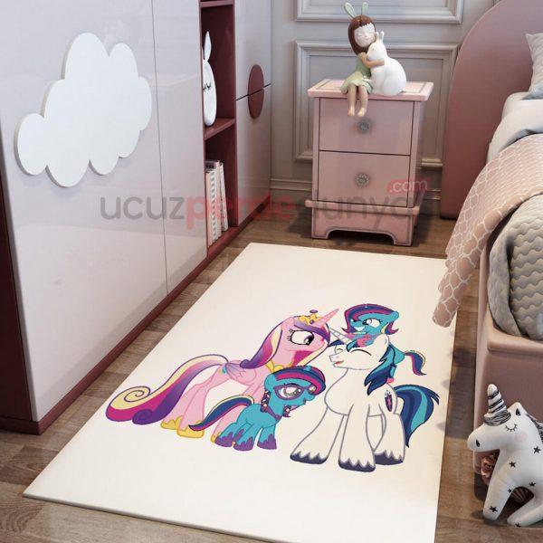 My Little Pony Bebek Odası Halı