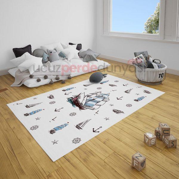 Piri Reis Gemi Çocuk Odası Halı
