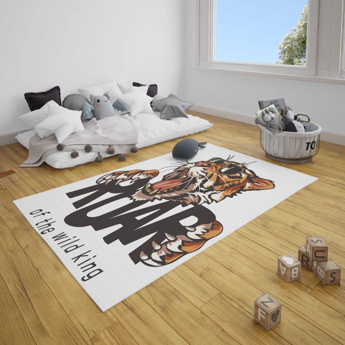 Roar Kaplan Genç Odası ve Çocuk Odası Halı