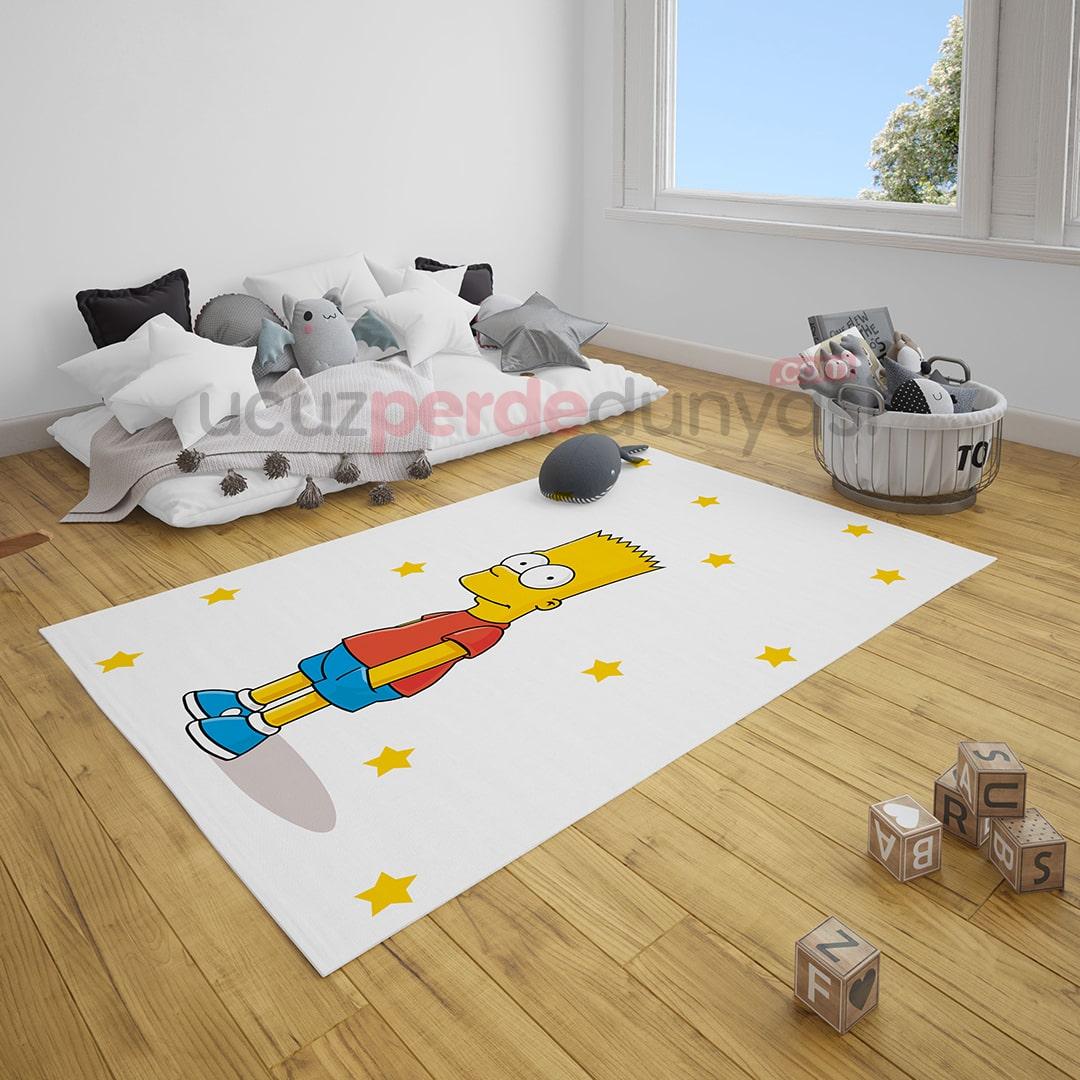 Simpsons Çocuk Odası Halı