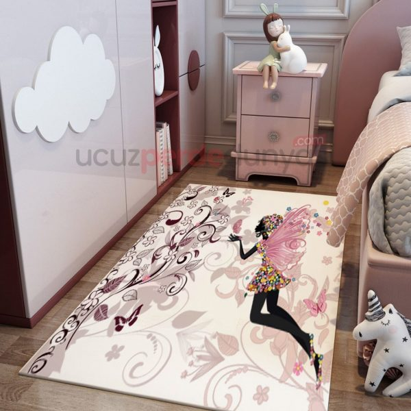 Uçan Peri Çocuk Odası Halı