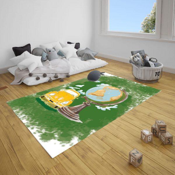 Woswos Dünya Genç Odası ve Çocuk Odası Halı