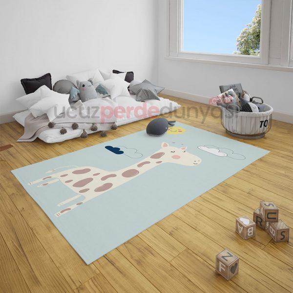 Zürafaa Bebek Odası Halı