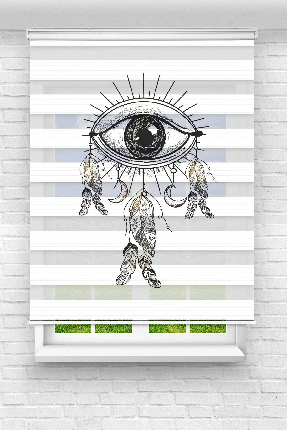 Göz ve Tüy Genç Odası Stor Zebra Perde
