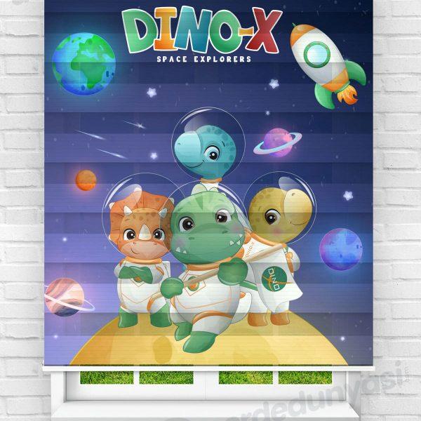 Dinox Çocuk Odası Zebra Perde